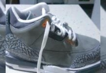 Air Jordan 3 Cool Grey CT8532-012 2021