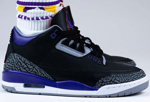 Air Jordan 3 Court Purple Suns Release Date