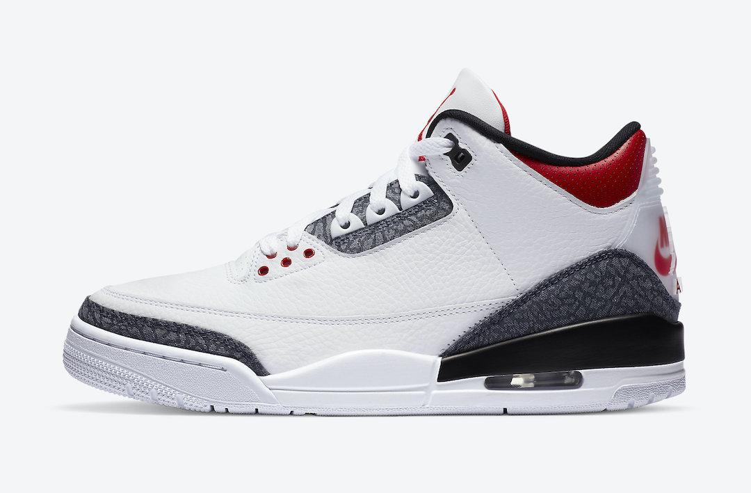 Air Jordan 3 Denim Fire Red CZ6431-100 Release Info