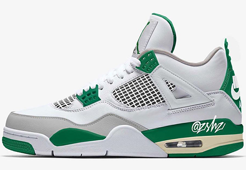 Air Jordan 4 Summit White Pine Green Neutral Grey Muslin 2020 Release Date
