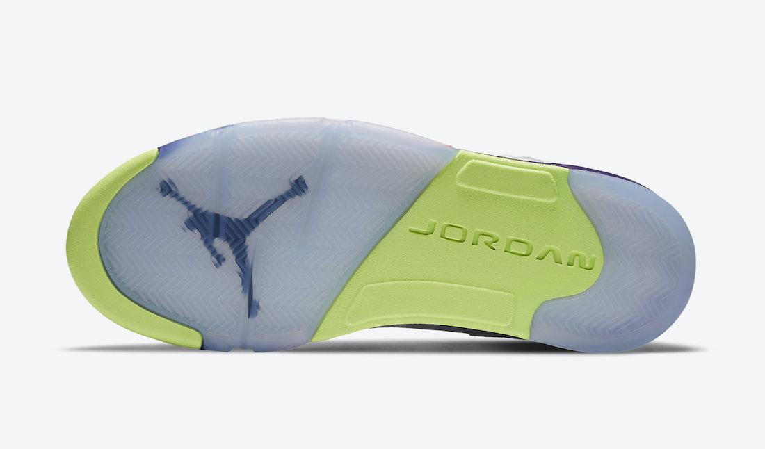 Air Jordan 5 Alternate Bel-Air DB3335-100 Release Info Price