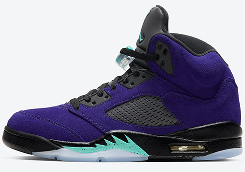 Air Jordan 5 Alternate Grape 2020 Release Date