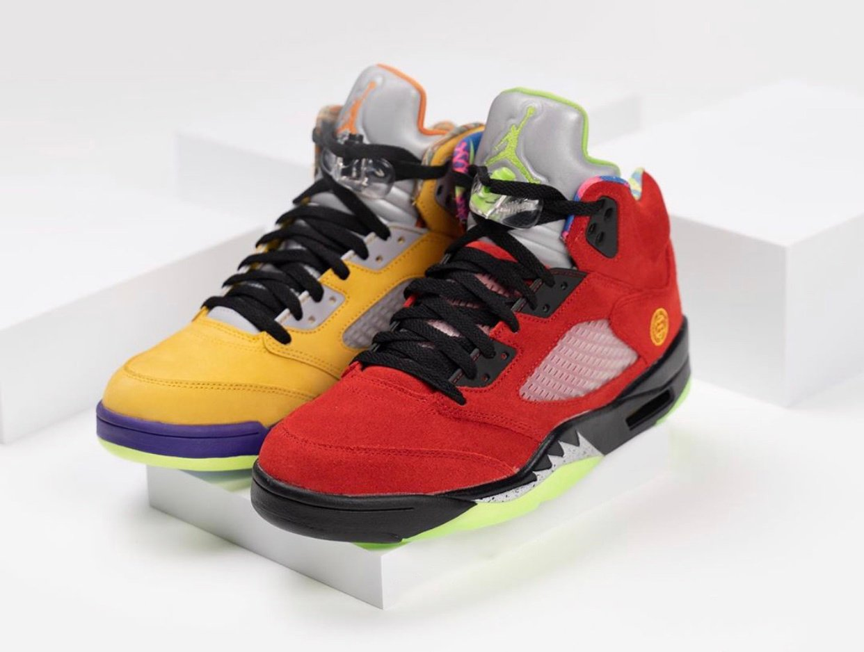 Air Jordan 5 What The CZ5725-700 2020