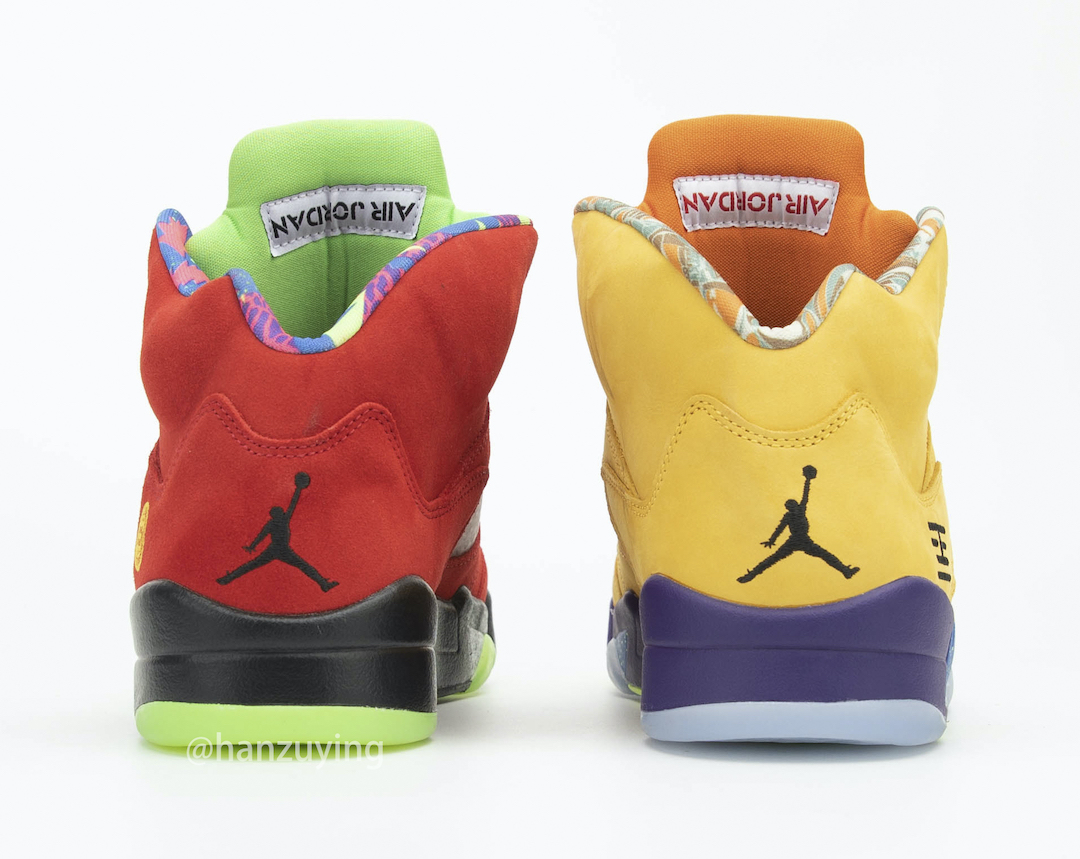 Air Jordan 5 What The Release Info CZ5725-700