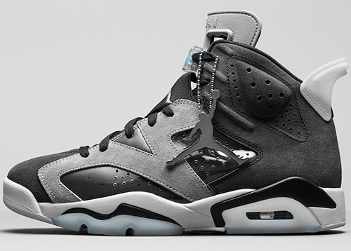 Air Jordan 6 WMNS Black Light Smoke Grey Sail Chrome Release Date