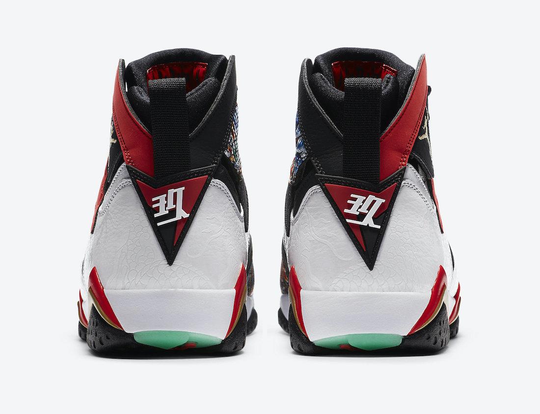 Air Jordan 7 China CW2805-160 Release Date Info