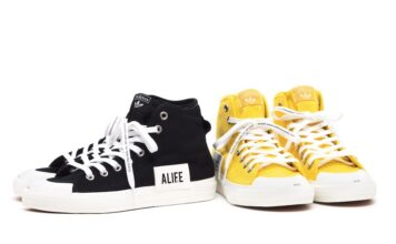 ALIFE adidas Nizza High Yellow Black Release Date Info