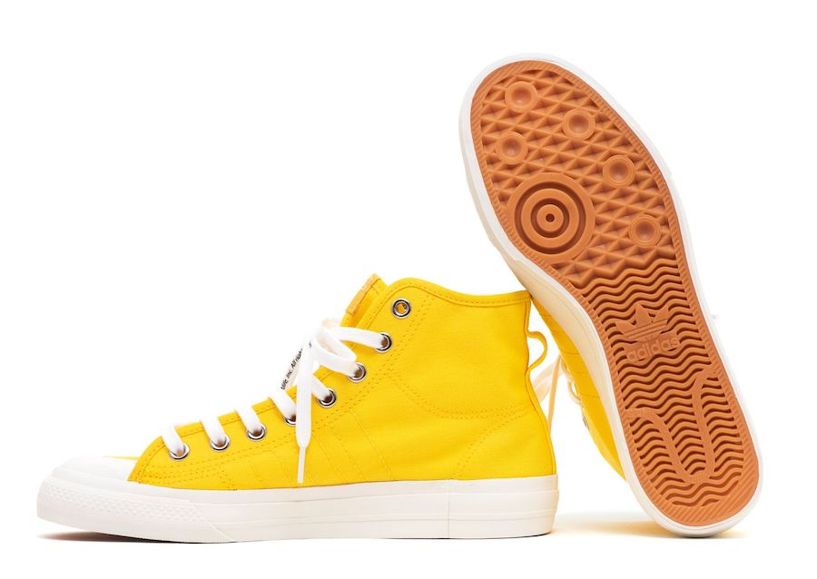 ALIFE adidas Nizza High Yellow Release Date Info