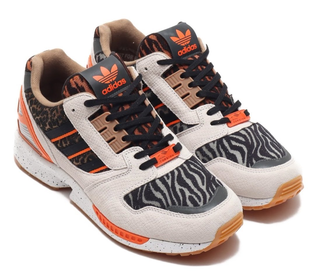 atmos adidas ZX 8000 Animal FY5246 Release Date Info