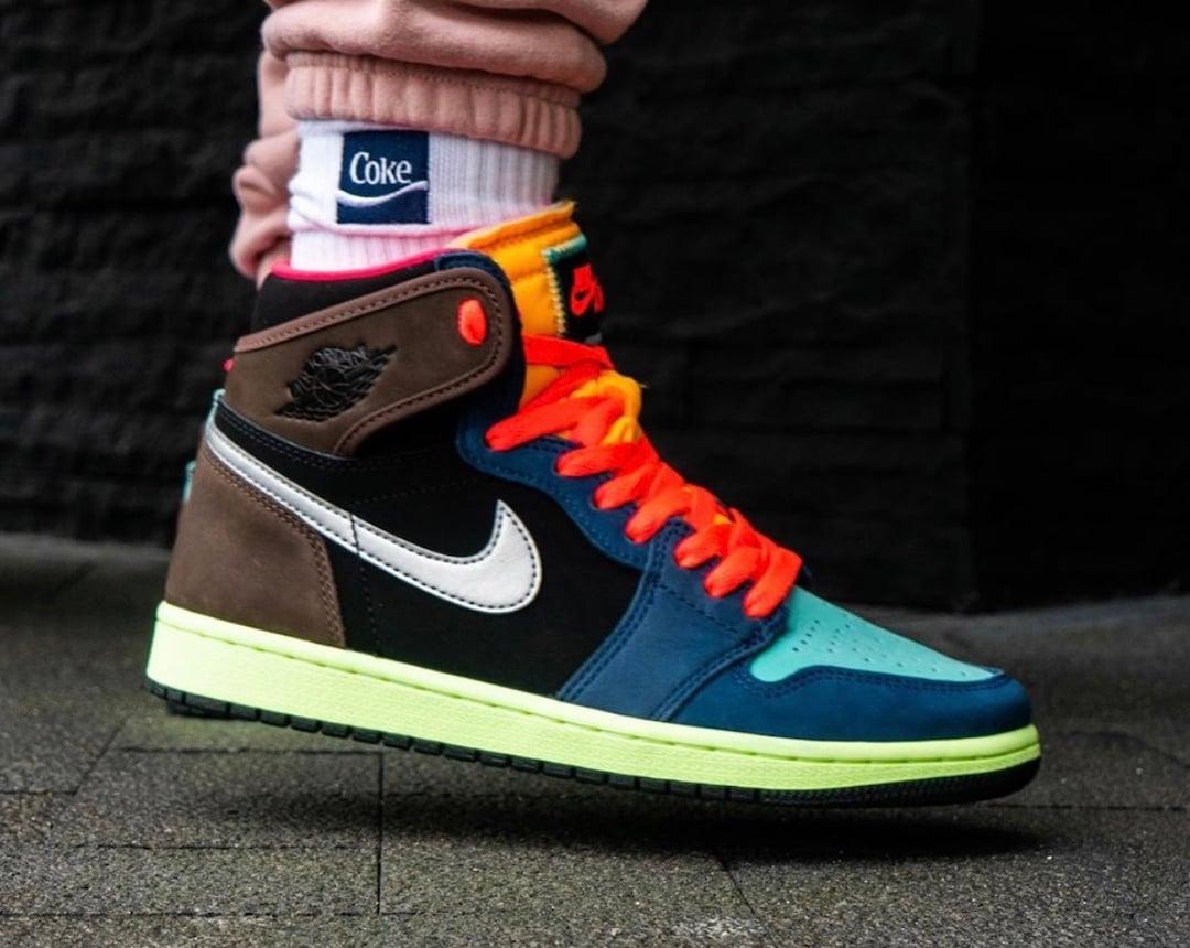 Bio Hack Air Jordan 1 555088-201 On Feet