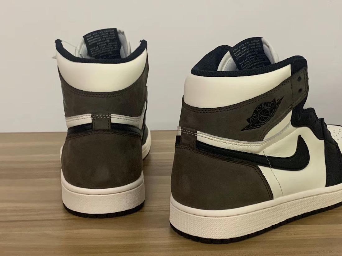 Dark Mocha Air Jordan 1 555088-105