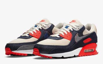 DENHAM Nike Air Max 90 Infrared Release Date Info