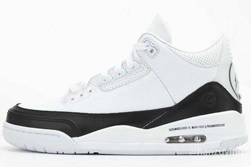 Fragment Air Jordan 3 White Black 2020 Release Date