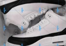 Fragment Air Jordan 3 White Black DA3595-100