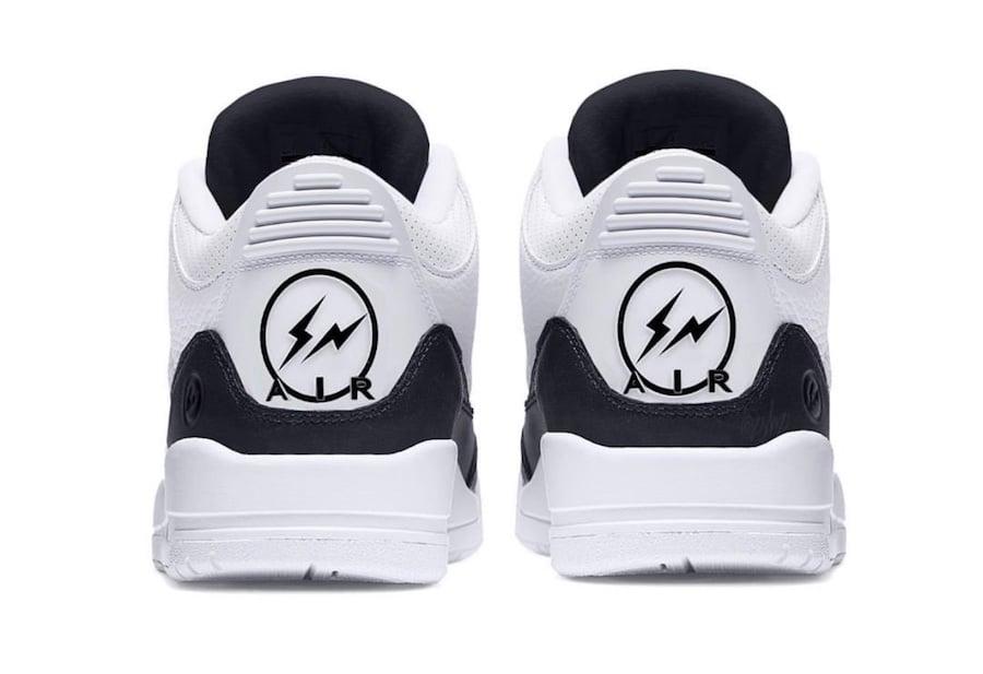Fragment Air Jordan 3 White Black Release Date Info