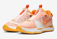 Gatorade Nike PG 4 Citrus Orange CD5078-101 Release Date Info
