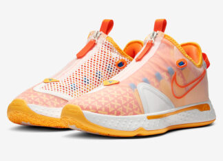 Gatorade Nike PG 4 Citrus Orange CD5078-101 Release Date Info