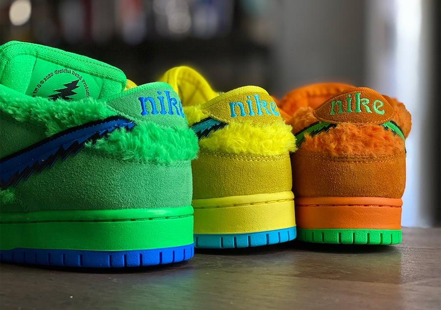 Grateful Dead Nike SB Dunk Low