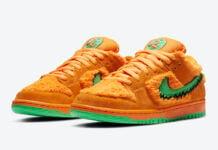 Grateful Dead Nike SB Dunk Low Orange Bear CJ5378-800 Release