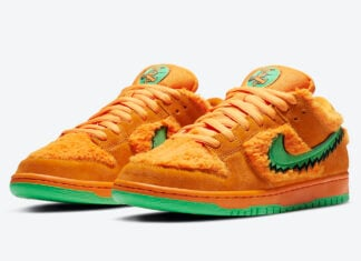 Grateful Dead Nike SB Dunk Low Orange Bear CJ5378-800 Release