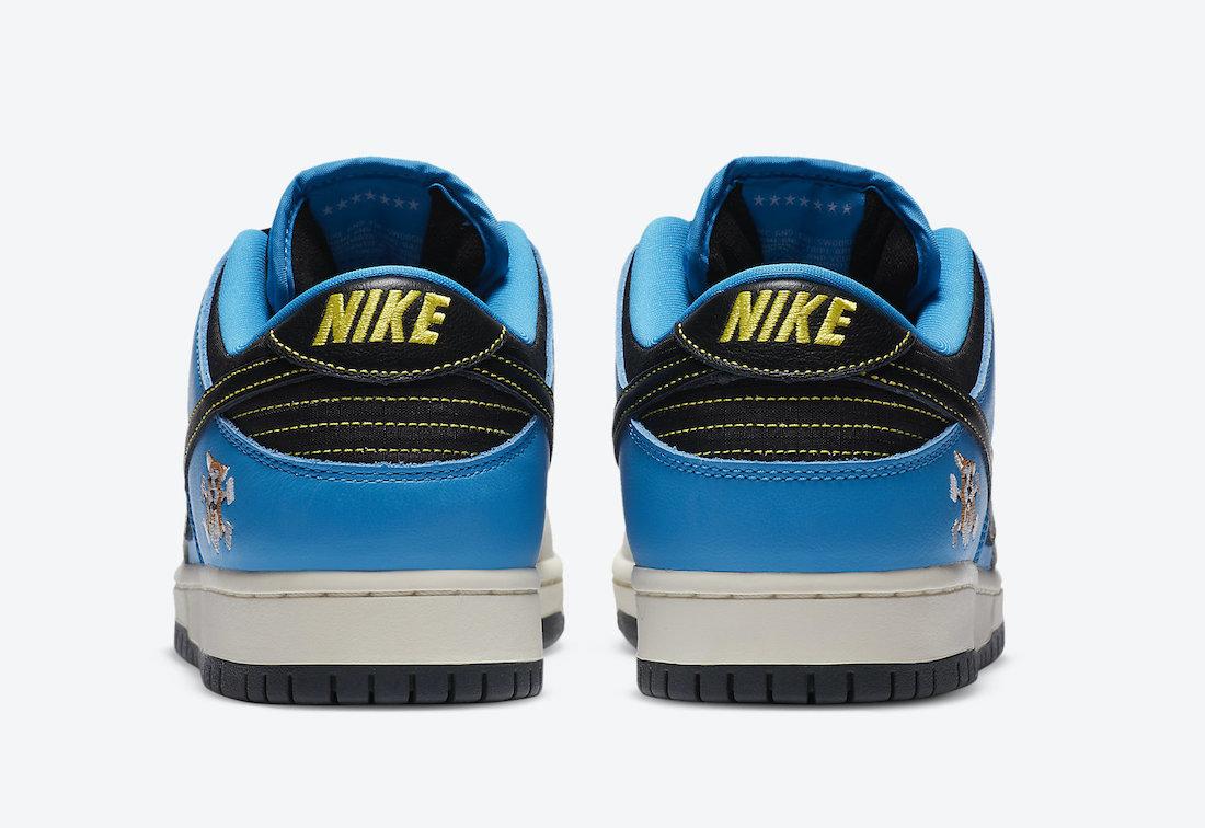 Instant Skateboards Nike SB Dunk Low CZ5128-400 Release Info