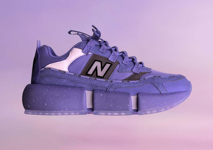 Jaden Smith New Balance Vision Racer Wavy Baby Blue