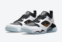 Jordan Mars 270 Low White Black Orange Aqua CK1196-101 Release Date Info