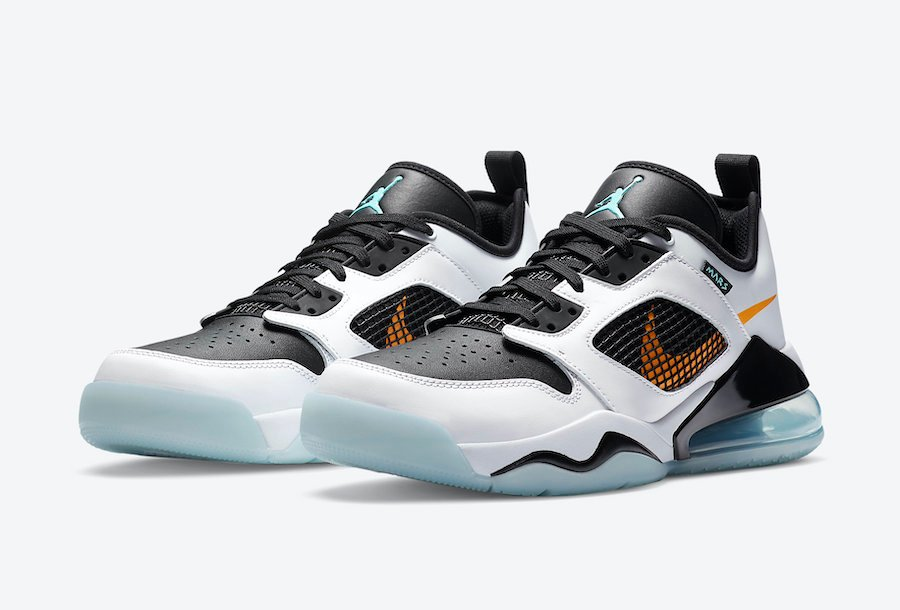 https://www.sneakerfiles.com/wp-content/uploads/2020/07/jordan-mars-270-low-white-black-orange-aqua-ck1196-101-release-date-info.jpg