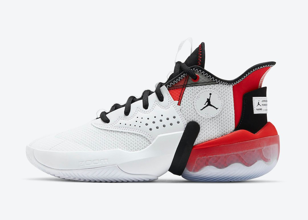 Jordan React Elevation White University Red Black CK6617-100 Release Date Info