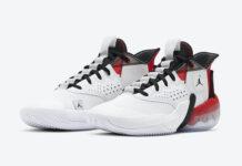 Jordan React Elevation White University Red Black CK6617-100 Release Date Info