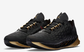 Jordan Trunner ultimate Black Gold CJ1495-007 Release Date Info