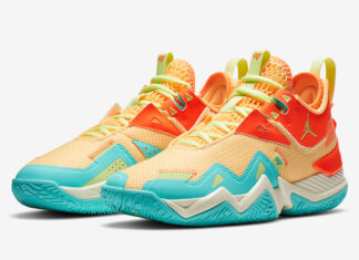 Jordan Westbrook One Take Mango Orange Blue Volt CJ0780-800 Release Date Info
