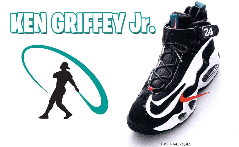 Ken Griffey Jr. Nike Air Griffey Max 1 Freshwater Swingman