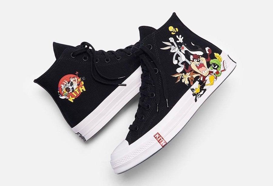 Kith x Looney Tunes x Converse Chuck 70 Releasing Soon