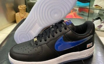 Kith Nike Air Force 1 Low NYC Black CZ7928-001