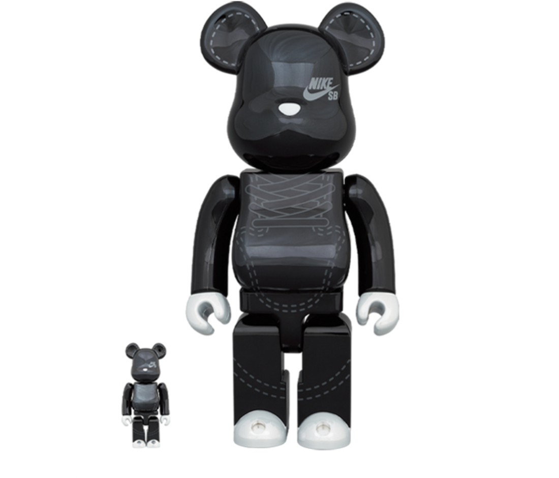 Medicom Toy Nike SB Dunk Low Bearbrick Black Release Date CZ5127-001