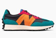 New Balance 327 Black Multi-Color