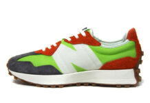 New Balance 327 Green Orange Gum Release Date Info