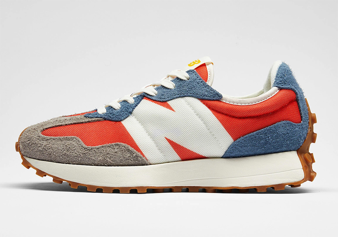 New Balance 327 Orange Blue Grey Release Date Info