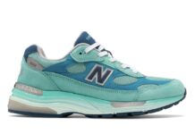 New Balance 992 Aqua Teal Blue