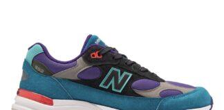 New Balance 992 Purple Teal