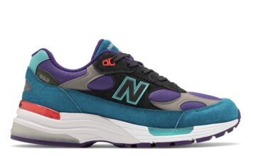New Balance 992 Purple Teal