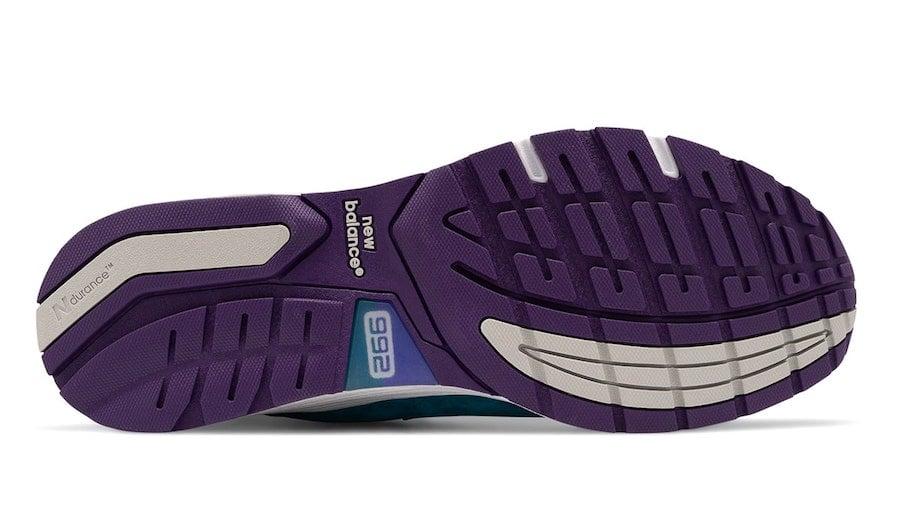 New Balance 992 Purple Teal Release Date Info