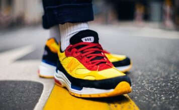 New Balance 992 Yellow Red Black Release Date Info