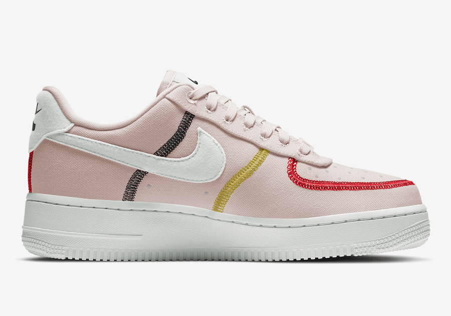 Nike Air Force 1 07 LX Silt Red CK6572-600 Release Date Info