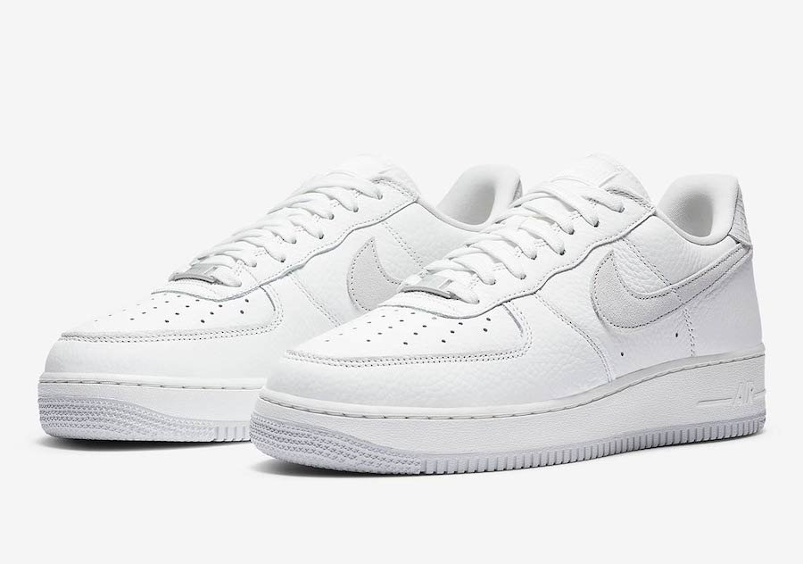 Nike Air Force 1 Craft White Grey CN2873-100 Release Date Info