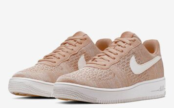 Nike Air Force 1 Flyknit 2.0 Tan White CI0051-200 Release Date Info