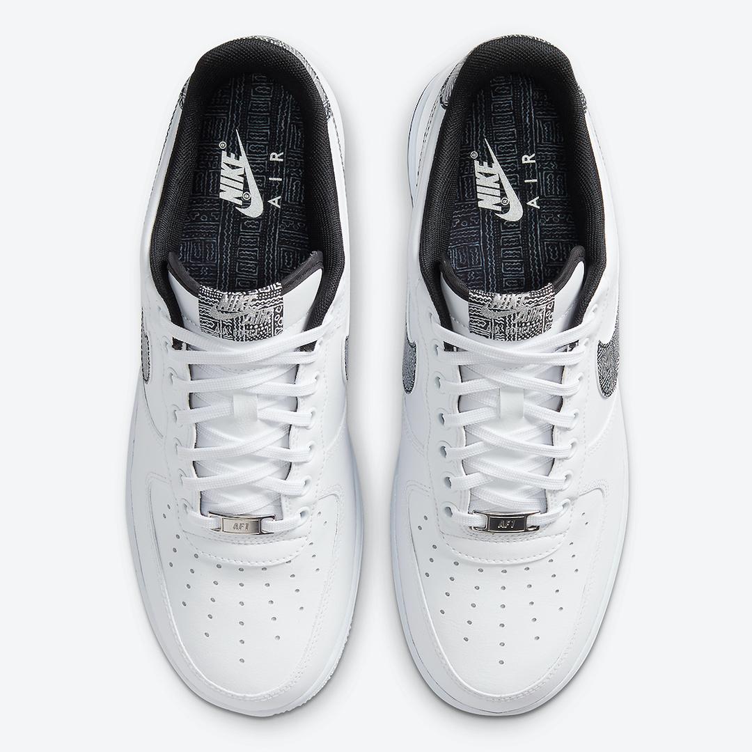 Nike Air Force 1 Geometric CZ7933-100 Release Date Info