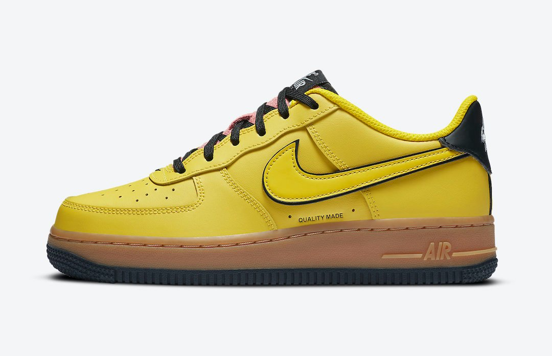 Nike Air Force 1 Low Gs Yellow Gum Cz7948 700 Release Date Info Sneakerfiles