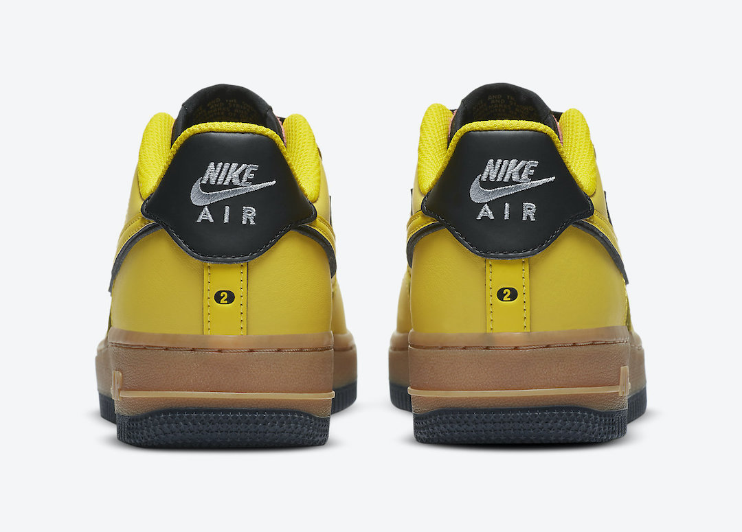 Nike Air Force 1 Low GS Yellow Gum CZ7948-700 Release Date Info